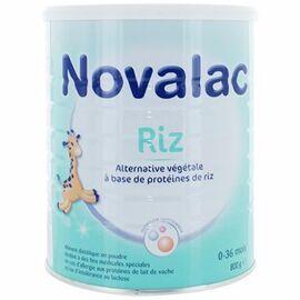 Riz lait infantile 0-36 mois 800g - 800.0 g - novalac -148282