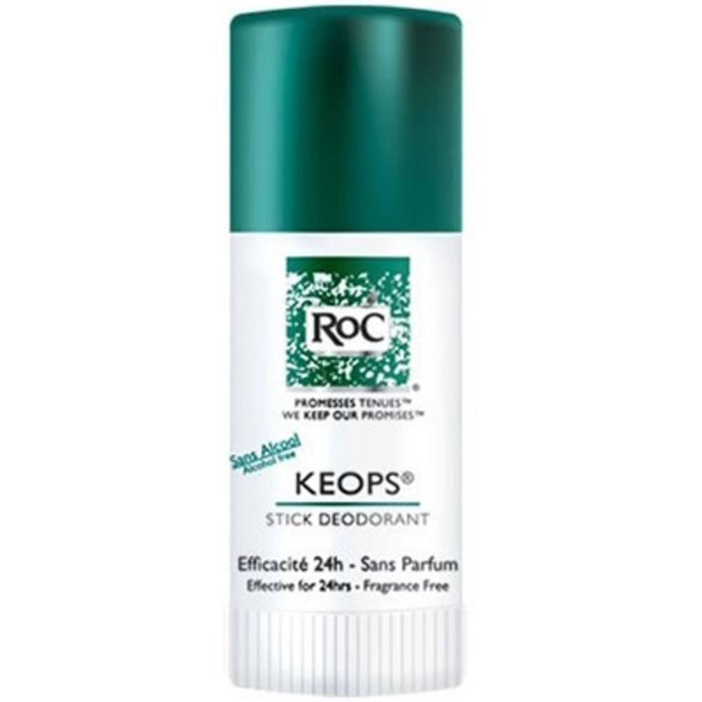 Roc deodorant stick keops - 40.0 ml - déodorants keops - roc Transpiration modérée-3106