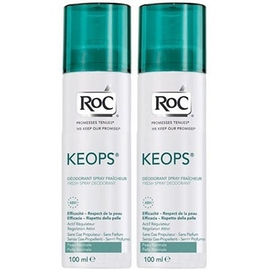 Roc keops déodorant fraîcheur spray - lot de 2 - roc -196037
