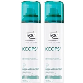 Roc keops déodorant sec spray - lot de 2 - roc -196012