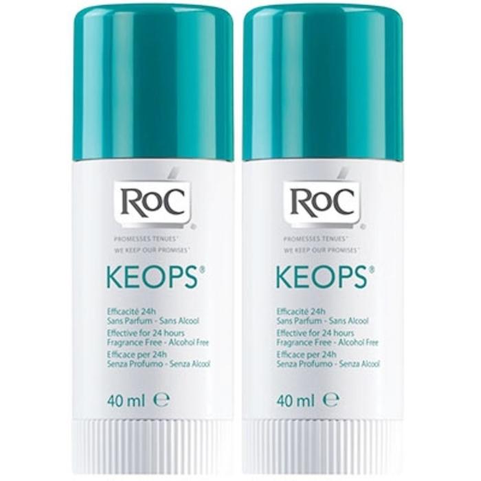 Roc lot de 2 deodorants sticks keops Roc-7217