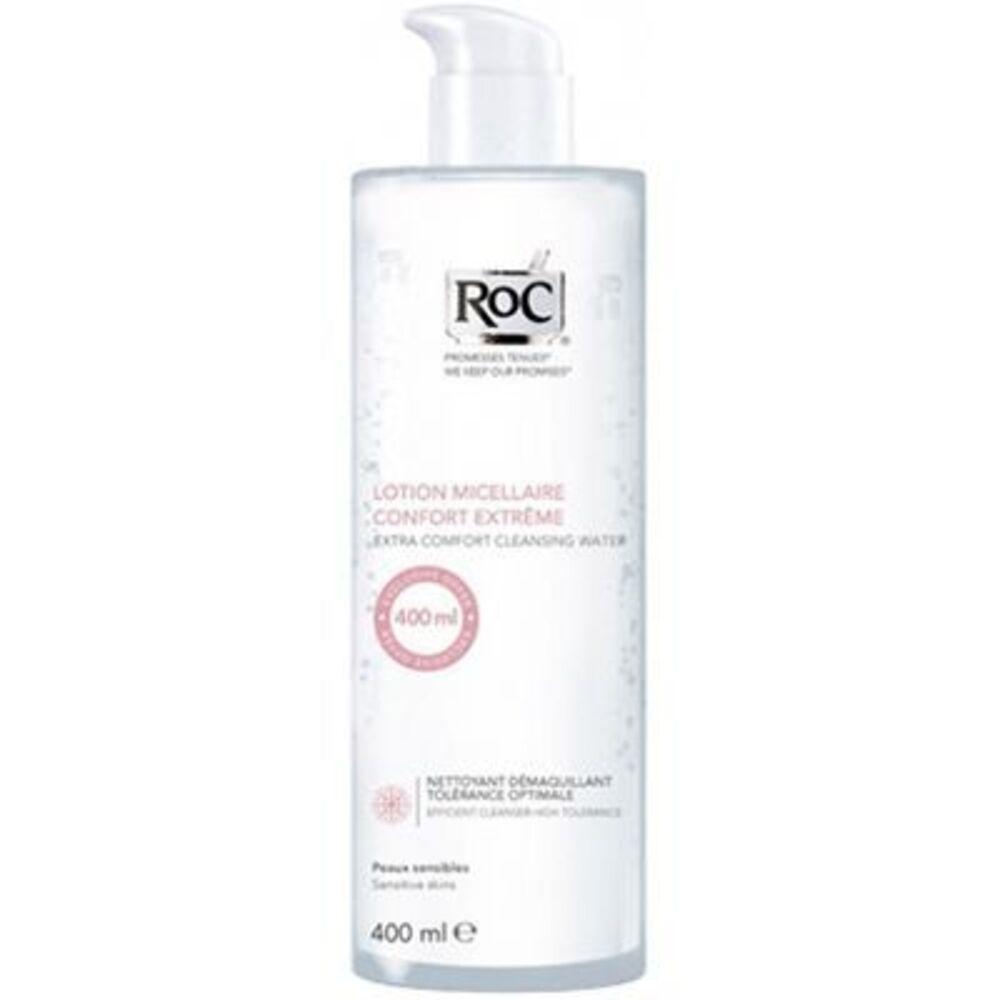 Roc lotion micellaire confort extrême 400ml - 400.0 ml - démaquillage actif - roc Peaux sensibles-109432