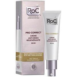 Roc pro-correct crème anti-rides régénérante riche - 40.0 ml - anti-age pro - roc -143002