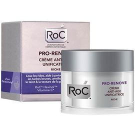 Roc pro-renove crème anti-age unificatrice riche - 50.0 ml - anti-age pro - roc -143000