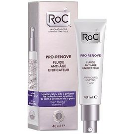 Roc pro-renove fluide anti-âge unificateur - 40.0 ml - anti-age pro - roc -142999