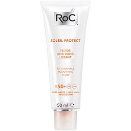 Roc soleil-protect fluide anti-rides lissant spf50+ 50ml - roc -221400