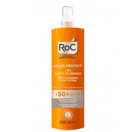 Roc soleil protexion+ spf50+ lait haute tolérance 200ml - roc -221403