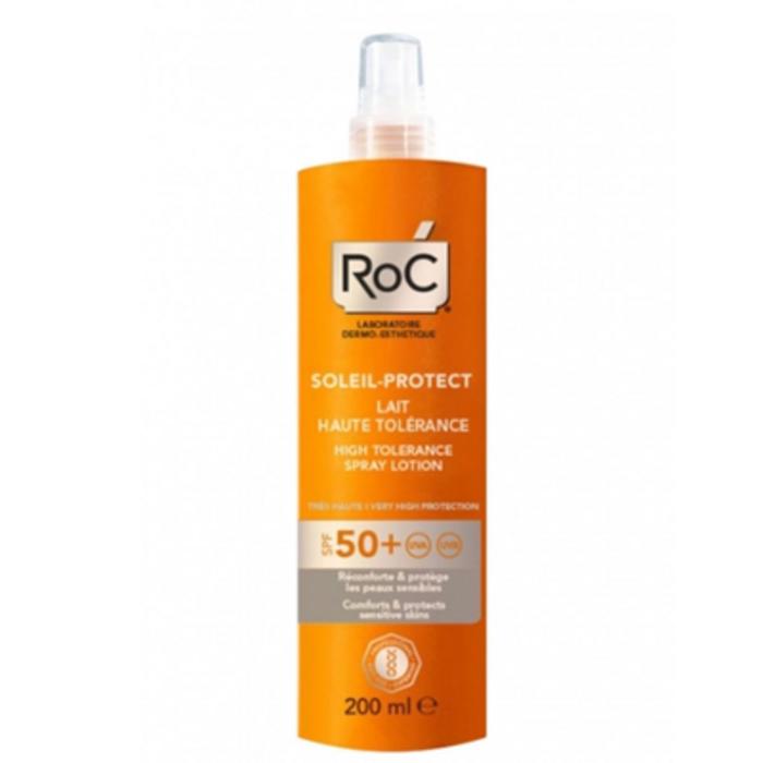 Roc soleil protexion+ spf50+ lait haute tolérance 200ml Roc-221403