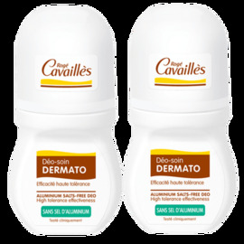Roge cavailles déo-soin dermato roll-on - lot de 2 x - 50.0 ml - déodorants - rogé cavaillès -83818