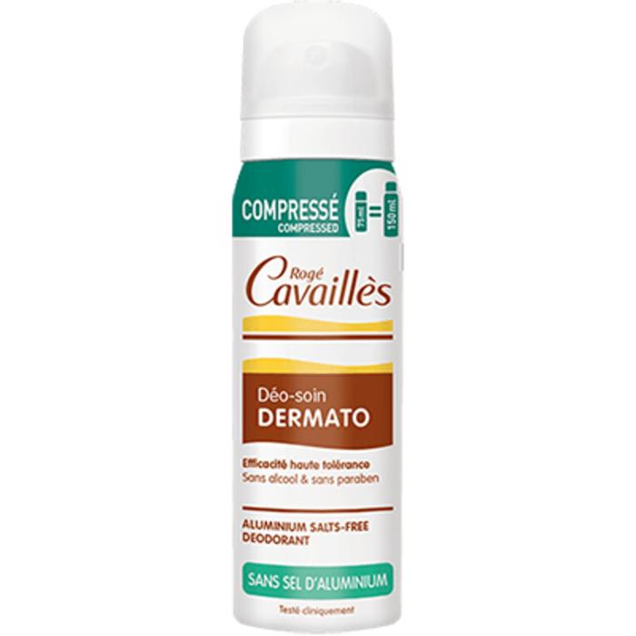 Roge cavailles déo-soin dermato spray compressé 75ml Rogé cavaillès-220263