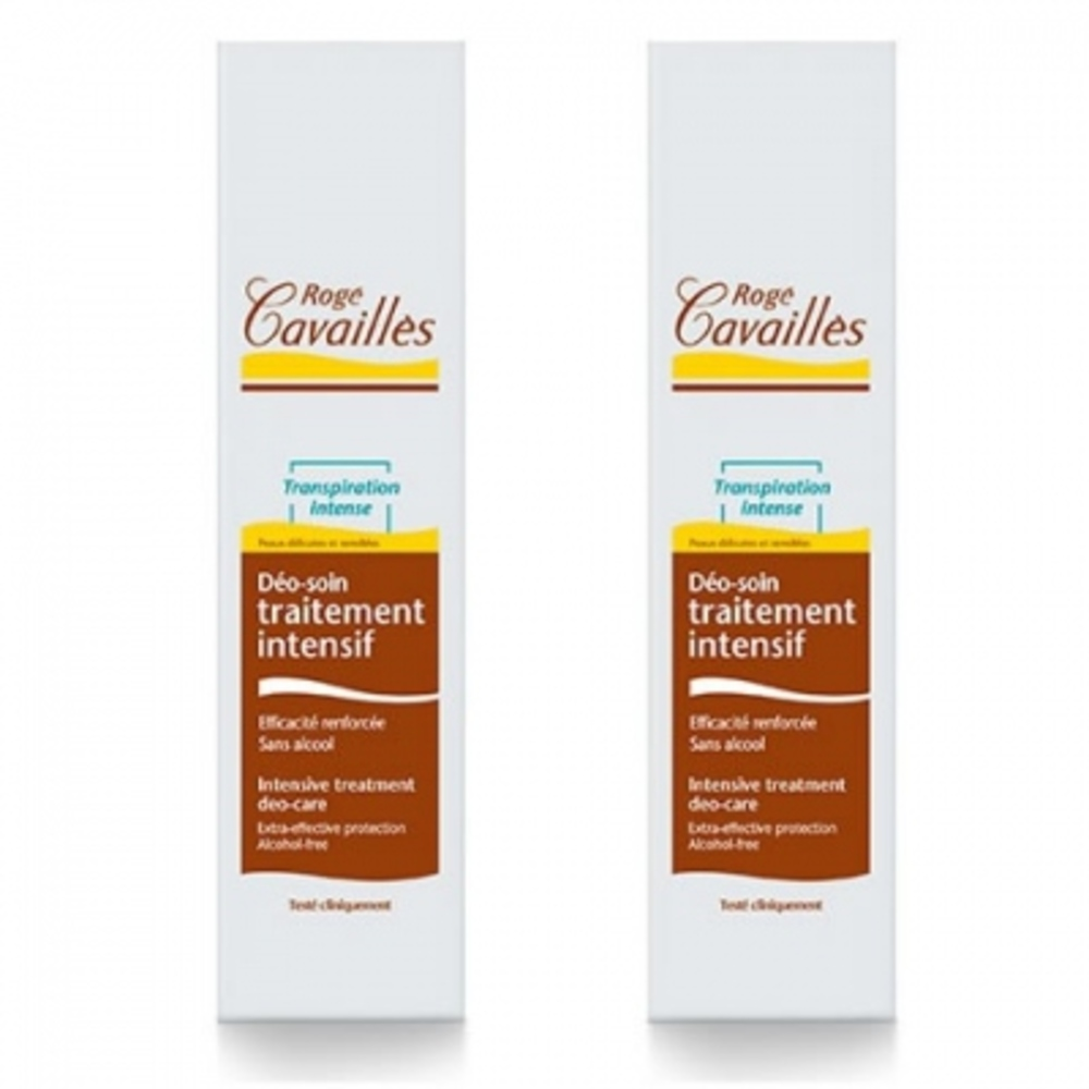 Rogé cavaillès déo-soin traitement intensif spray x2 - déodorants - rogé cavaillès -82599