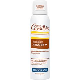 Roge cavailles déodorant absorb+ efficacité 48h spray 150ml - rogé cavaillès -82795