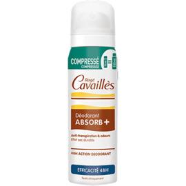 Roge cavailles déodorant absorb+ efficacité 48h spray compressé 75ml - rogé cavaillès -220265