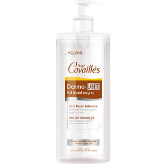 Roge cavailles dermo-uht gel lavant surgras 500ml Rogé cavaillès-215306