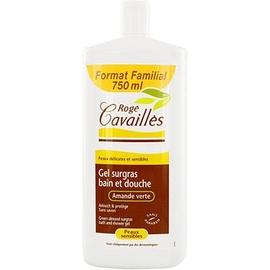 Roge cavailles gel surgras bain douche amande verte - 750ml - 500.0 ml - douche - rogé cavaillès -82933