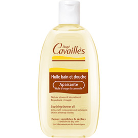 Roge cavailles huile bain et douche apaisante 250ml - rogé cavaillès -221350