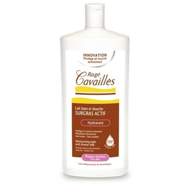 Roge cavailles lait bain et douche hydratant - 1l Rogé cavaillès-140685