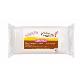 Roge cavailles lingettes extra douces x15 - 15.0 unites - hygiène intime - rogé cavaillès -82741
