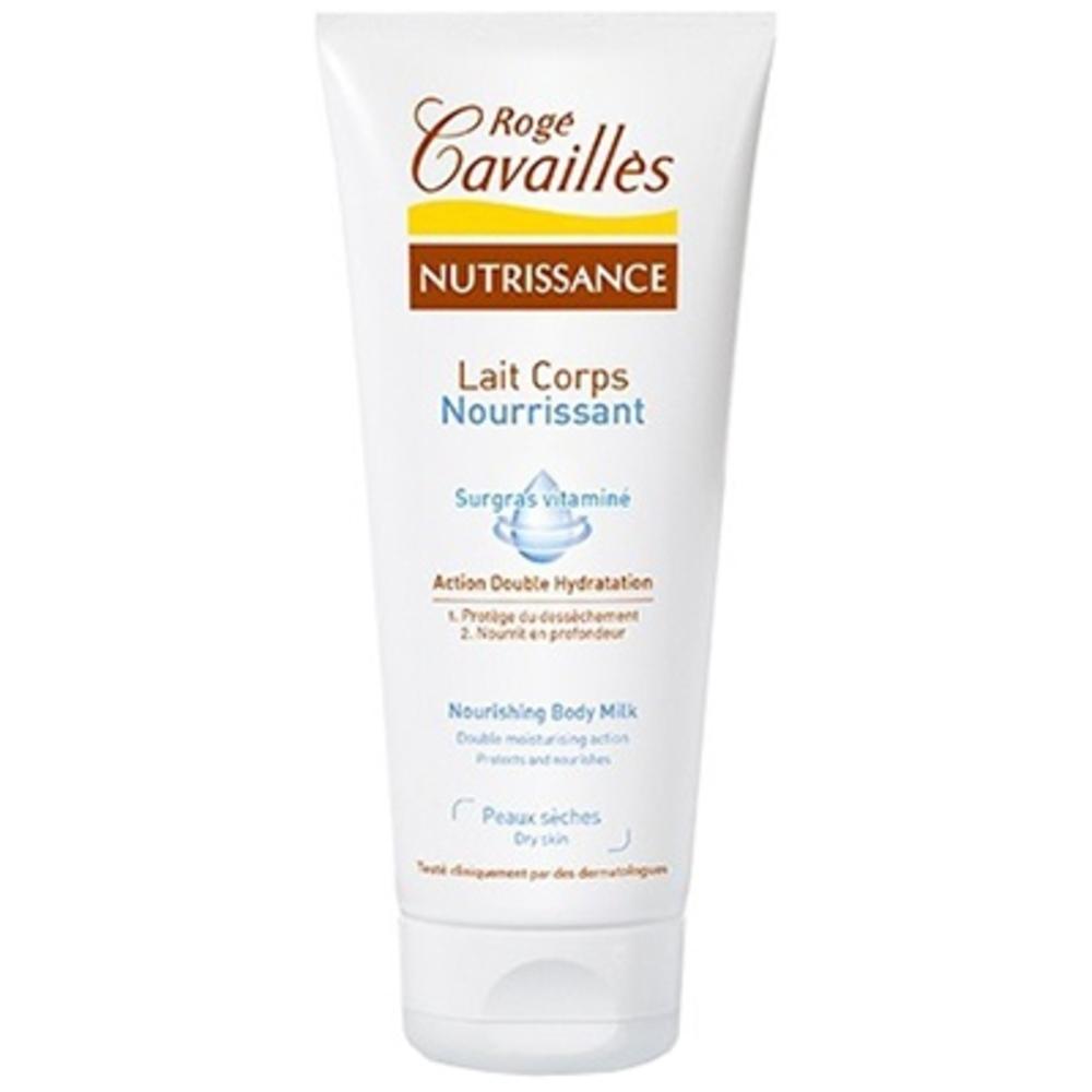 Roge cavailles nutrissance lait corps - 200ml - 200.0 ml - nutrissance - rogé cavaillès -140677