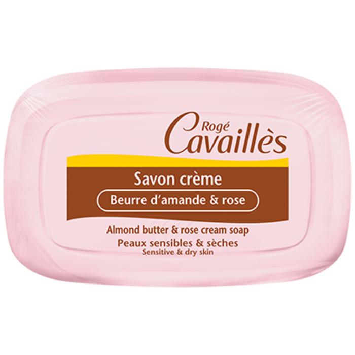 Roge cavailles savon crème beurre d'amande et rose 115g Rogé cavaillès-215302