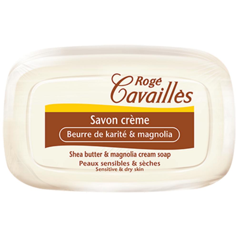 Rogé cavailles savon crème beurre de karité et magnolia - 115g Rogé cavaillès-205211