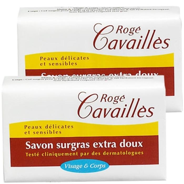 Roge cavailles savon surgras extra-doux lot de 2 Rogé cavaillès-140684