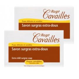 Roge cavailles savon surgras extra-doux lot de 2 - 250.0 g - savons - rogé cavaillès -140684