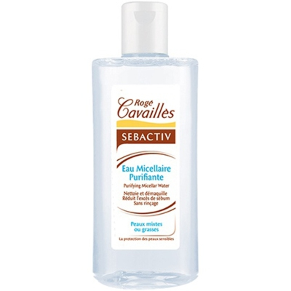 Roge cavailles sebactiv eau micellaire purifiante - 250.0 ml - sébactiv - rogé cavaillès Peaux mixtes ou grasses-142879