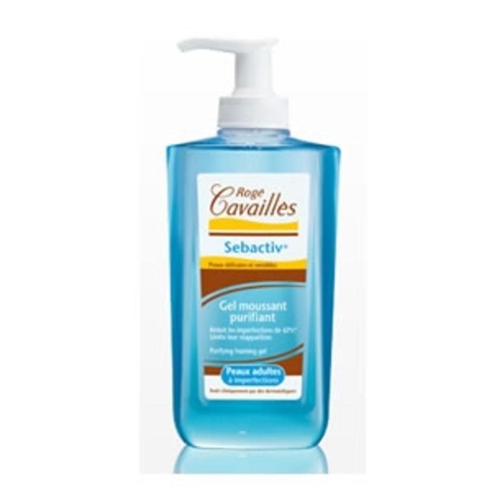Rogé cavailles sebactiv gel moussant purifiant - 300 ml - 300.0 ml - sébactiv - rogé cavaillès -100305