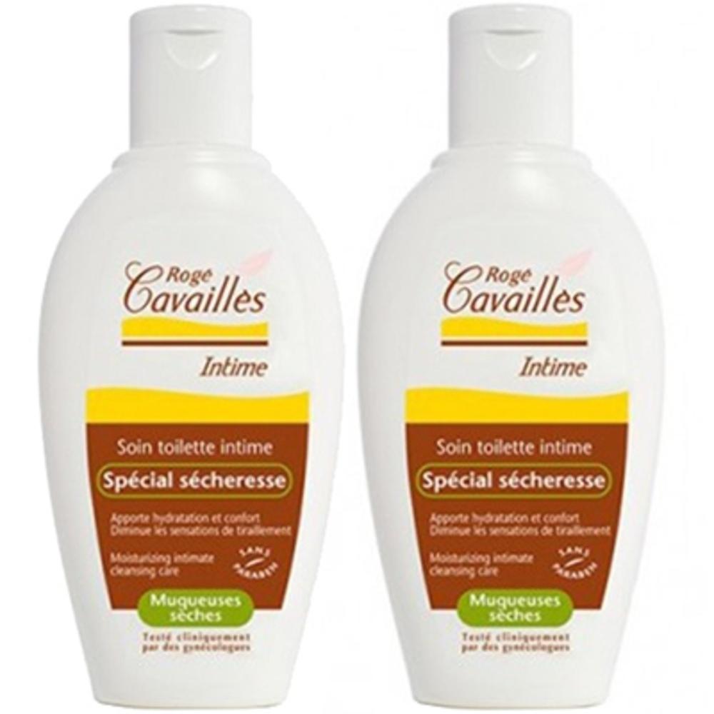 Rogé cavaillès soin intime spécial sécheresse lot de 2 x 200ml - 200.0 ml - hygiène intime - rogé cavaillès -140682