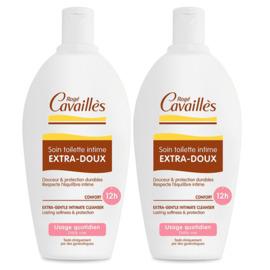 Roge cavailles soin toilette intime extra-doux - 2x500ml - rogé cavaillès -144755