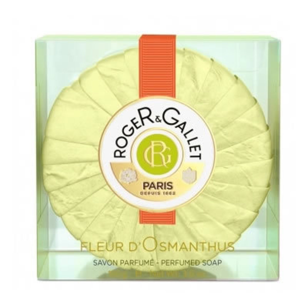 Roger et gallet fleur d'osmanthus savon 100g - 100.0 g - fleur d'osmanthus - roger & gallet -118703