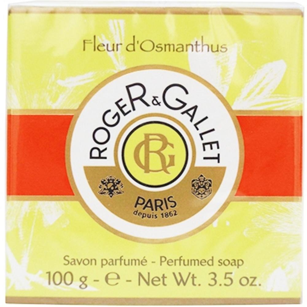 Roger et gallet fleur d'osmanthus savon boite voyage 100g - roger & gallet -211172