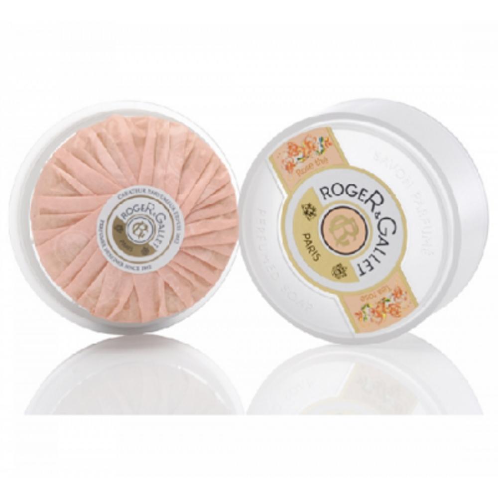 Roger et gallet rose thé savon voyage - 100.0 g - rose the - roger & gallet -84385