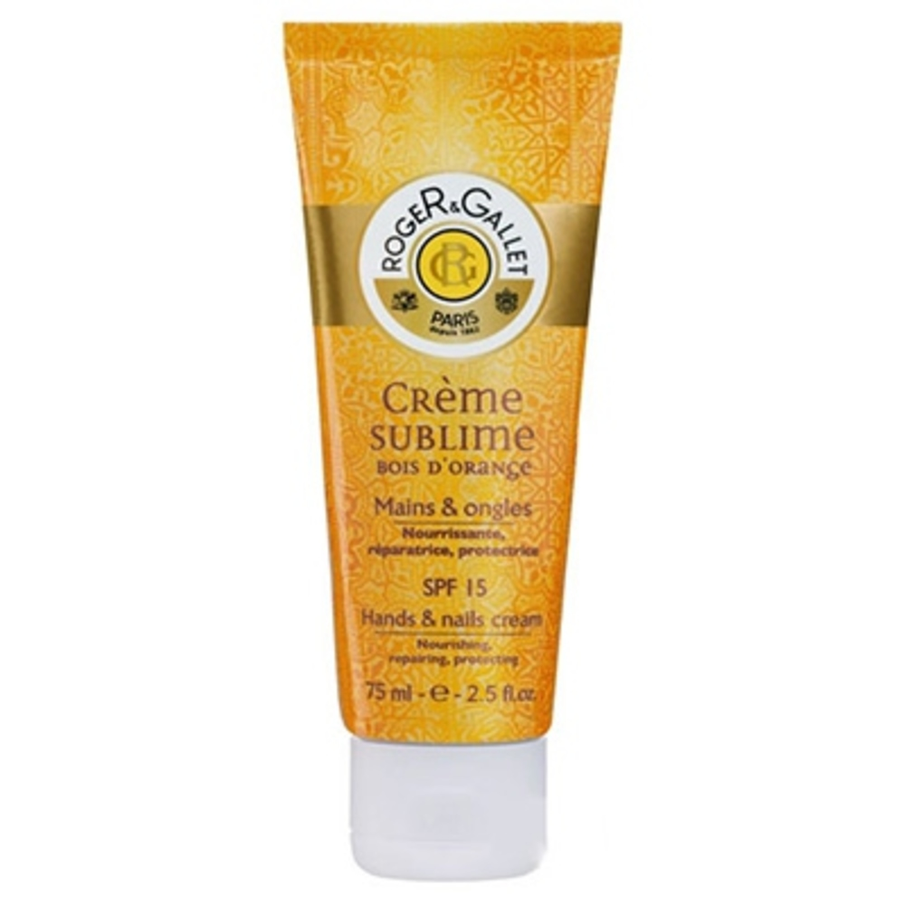 Roger & gallet bois d'orange crème sublime - 75.0 ml - mains - roger & gallet -126194