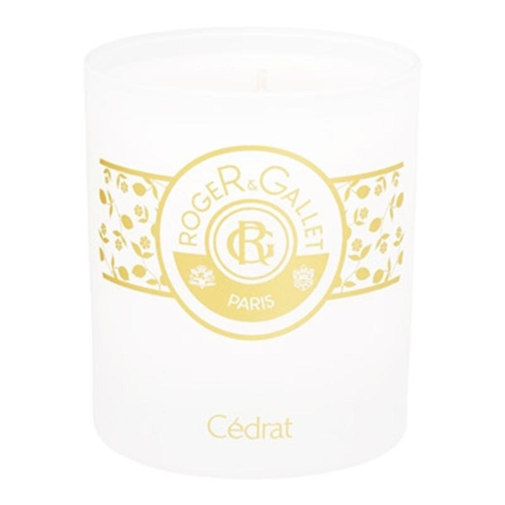 ROGER & GALLET Cédrat Bougie - 230.0 g - Cédrat - Roger & Gallet Bougie fraîcheur parfumée-64172
