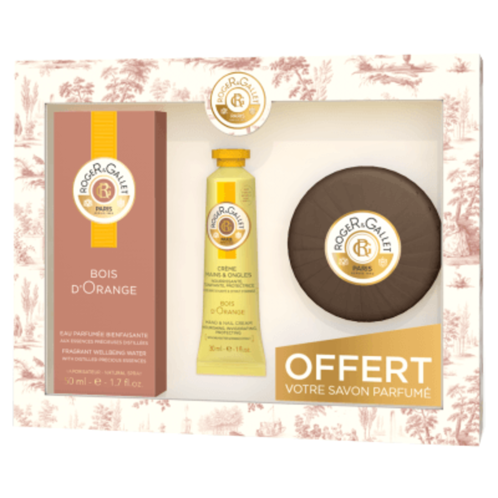 Roger & gallet coffret bois d'orange 50ml 2018 Roger & gallet-220974