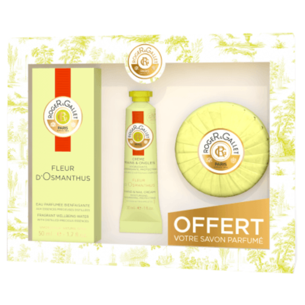 Roger & gallet coffret fleur d'osmanthus 50ml 2018 Roger & gallet-220972