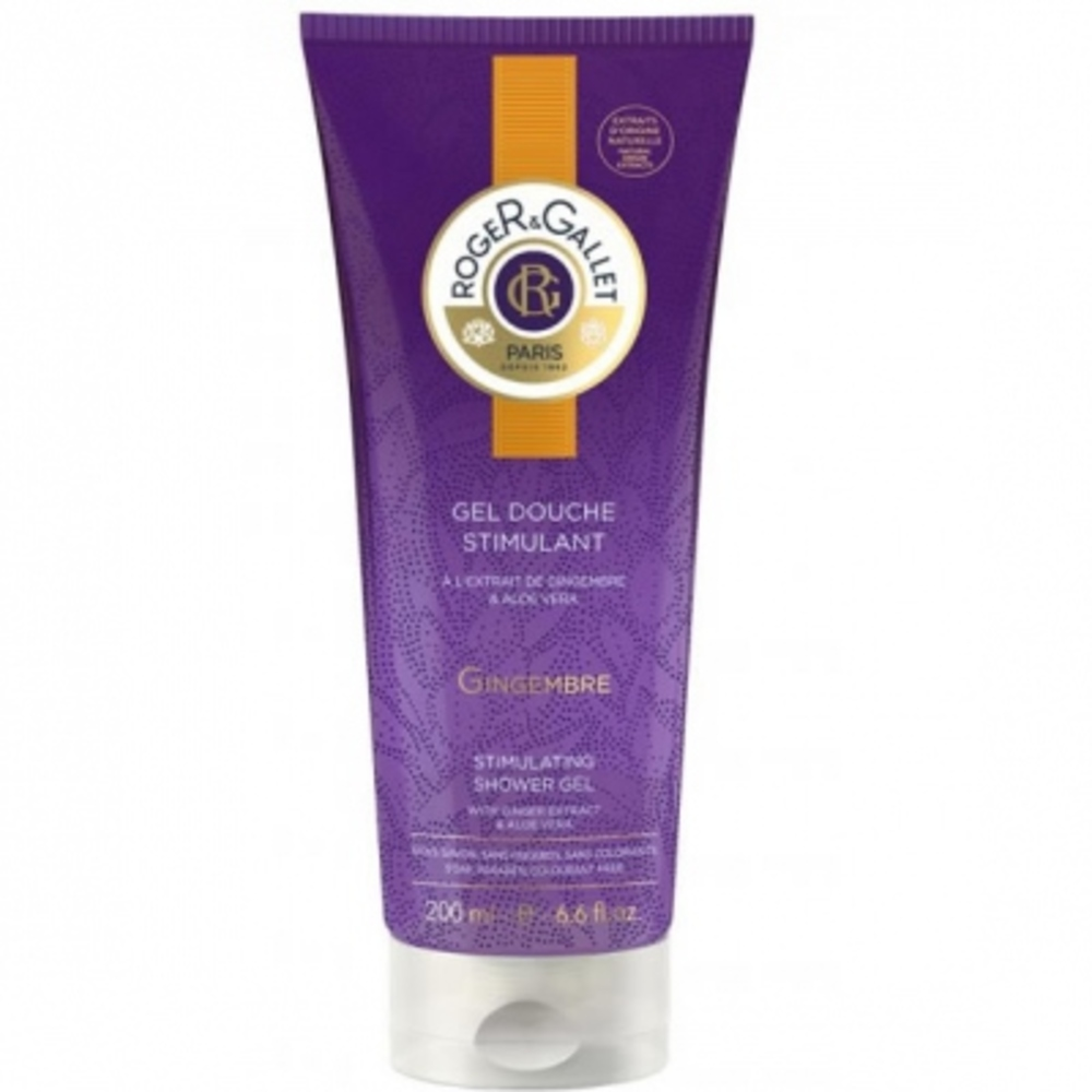 Roger & gallet gingembre gel douche 200ml - 200.0 ml - douche - roger & gallet -141165