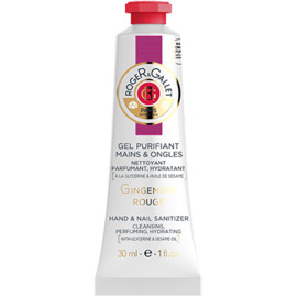 Roger & gallet gingembre rouge gel purifiant mains & ongles 30ml - roger & gallet -220515
