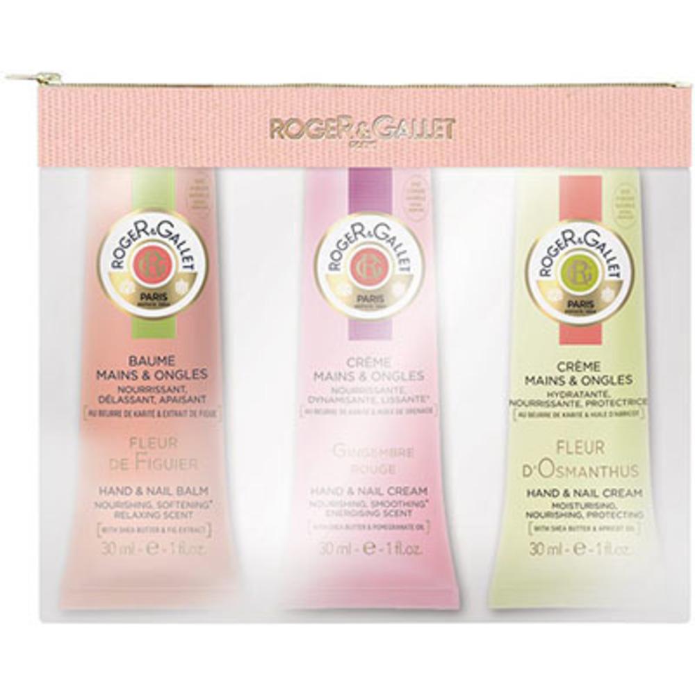 Roger & gallet trio crèmes mains fleur d'osmanthus, fleur de figuier, gingembre rouge 30ml Roger & gallet-222705