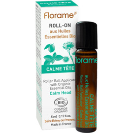 Roll-on calme tête bio 5ml - florame -225679