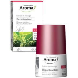 Roll-on de massage décontractant 50ml - le comptoir aroma -222037