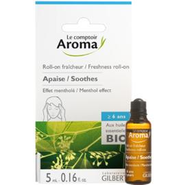 Roll-on fraîcheur maux de tête 5ml - le comptoir aroma -222036