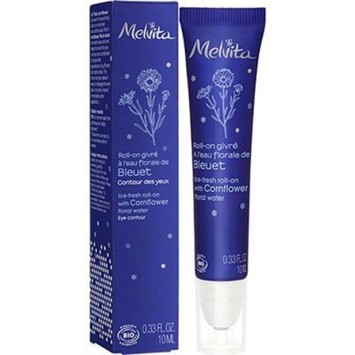 Roll-on givré à l'eau florale de bleuet 10ml Melvita-221877
