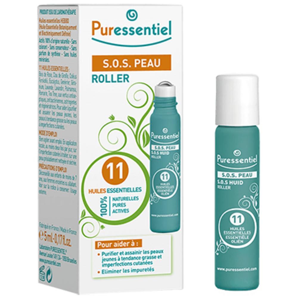 Roller sos peau - 5.0 ml - roller - puressentiel -13324