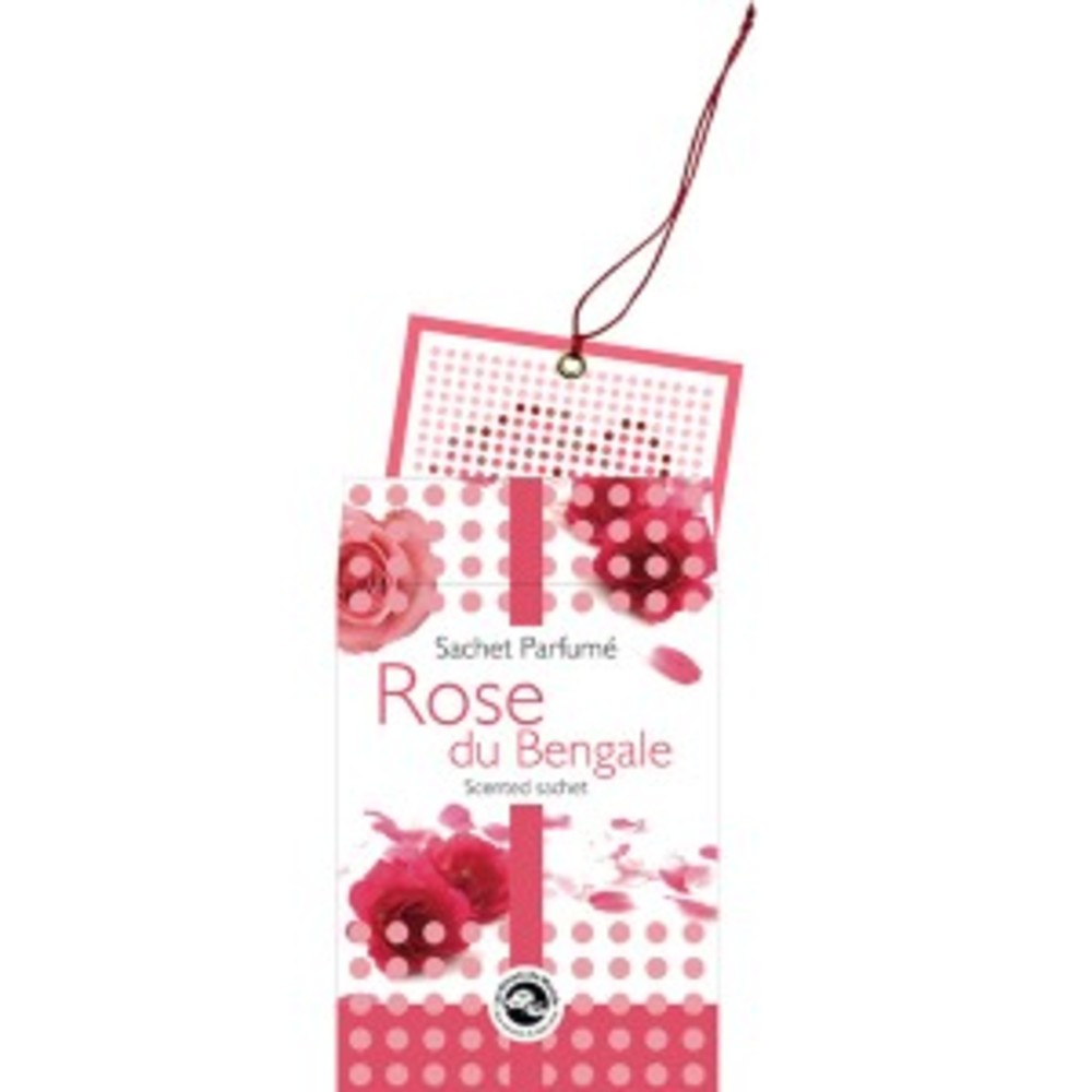 Rose du bengale - sachet parfumé - divers - florisens -139888