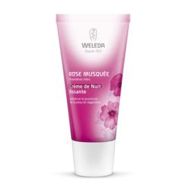 Rose musquée crème de nuit lissante - 30.0 ml - visage - weleda Préserve la jeunesse de la peau et régénère-111690