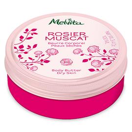Rosier muscat beurre corporel bio 100ml - beurres corporels - melvita -213411