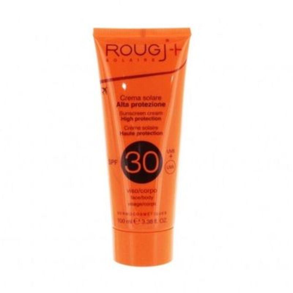 Rougj crème solaire spf30 visage corps 100ml - rougj -220682